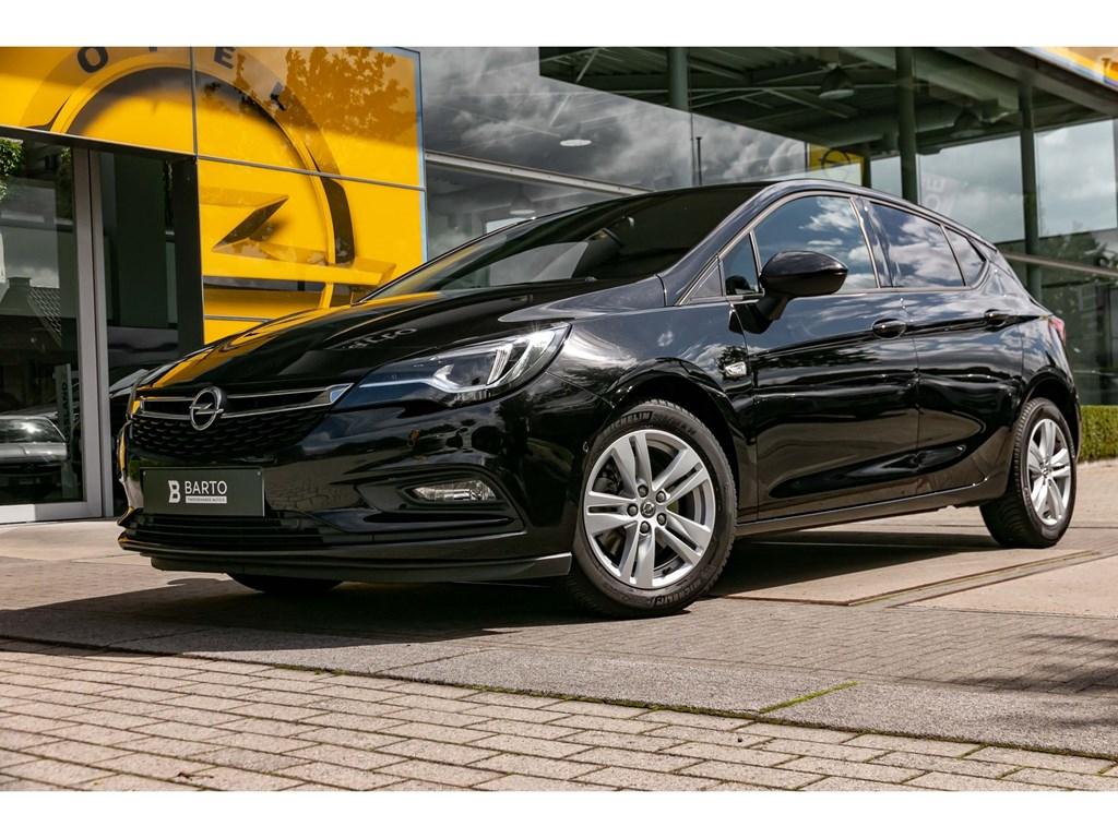 Tweedehands te koop: Opel Astra Zwart - 16Cdti 136pk AT5dVolledig LederOfflaneLEDMatrixCamera