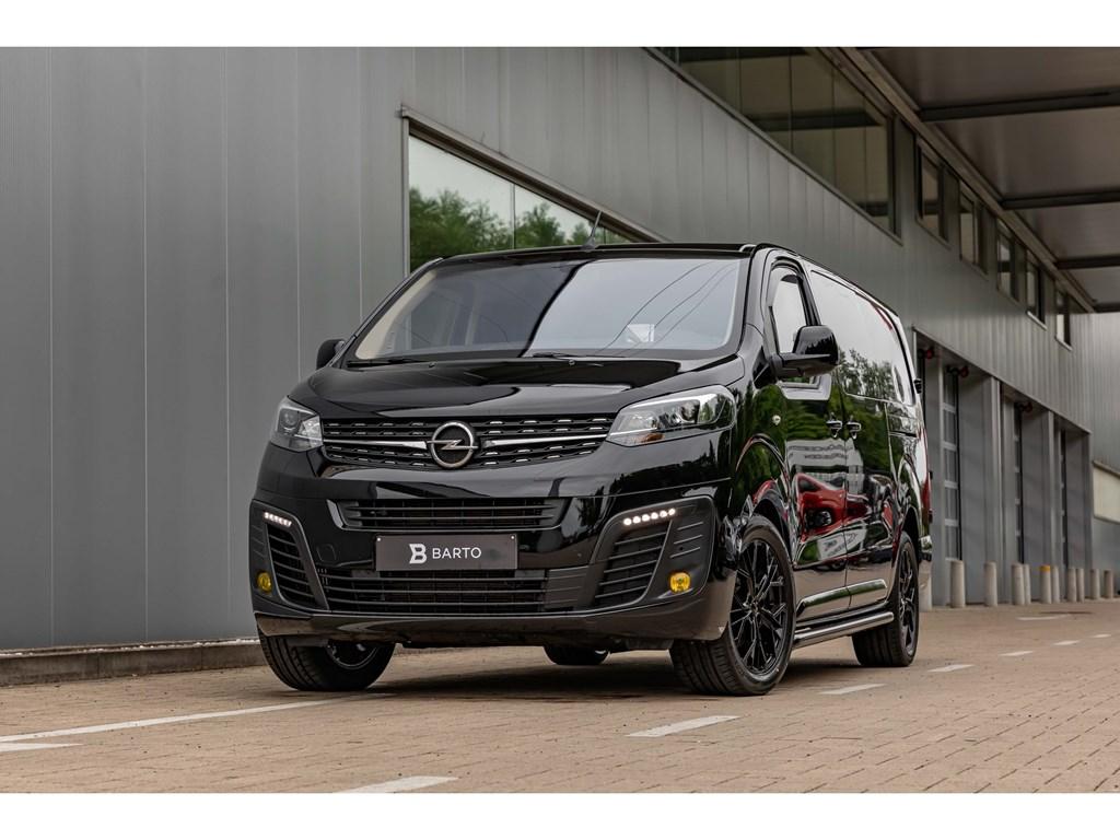 Tweedehands te koop: Opel Vivaro Zwart - 20D 150pkDubbel CabB-EditionVolledig LederCameraAfn TrekhaakAdapt Cruisecontr