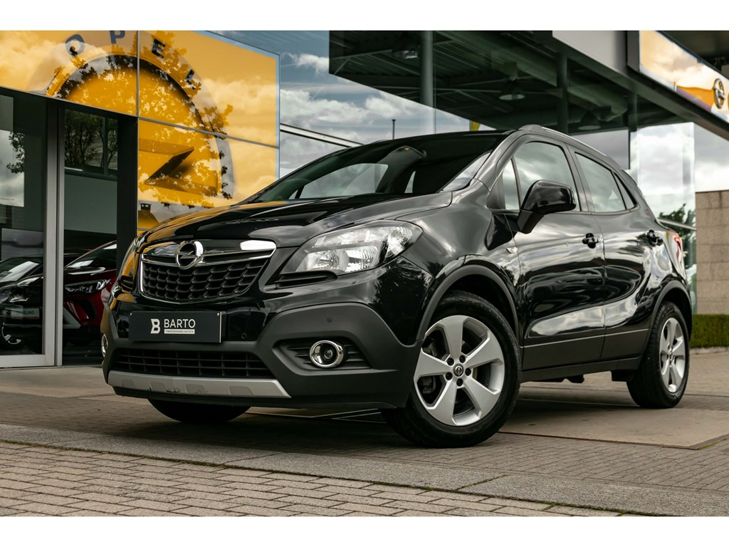 Opel-Mokka-Zwart-Enjoy-16-Benz-115pk-NaviAircoParkeersens