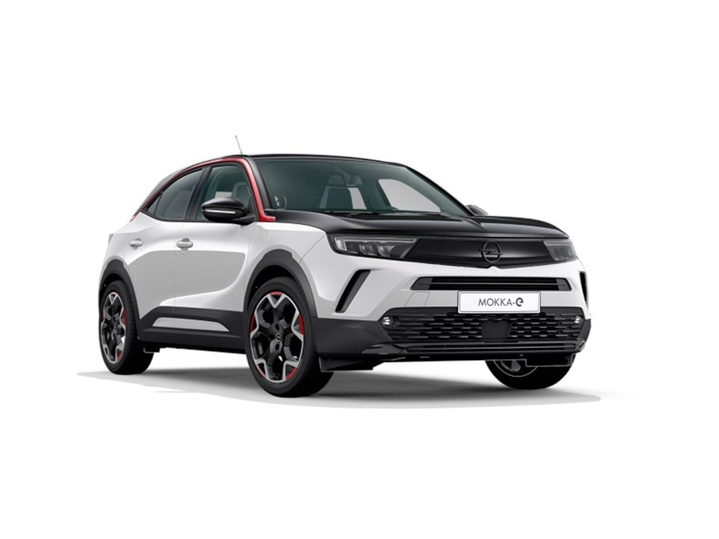 Tweedehands te koop: Opel Mokka Wit - e- GS Line Elektr BEV 50kWh 136pk 100kW - Nieuw