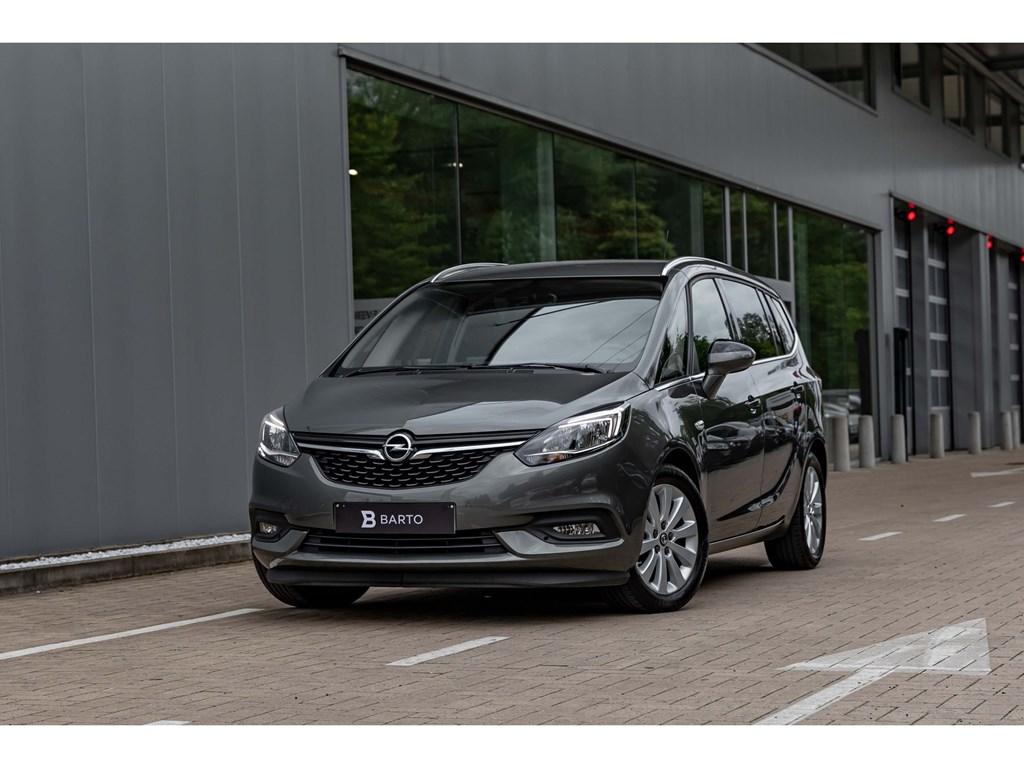 Opel-Zafira-Grijs-14T-BenzInnovationCameraAuto-AircoTrekhaak