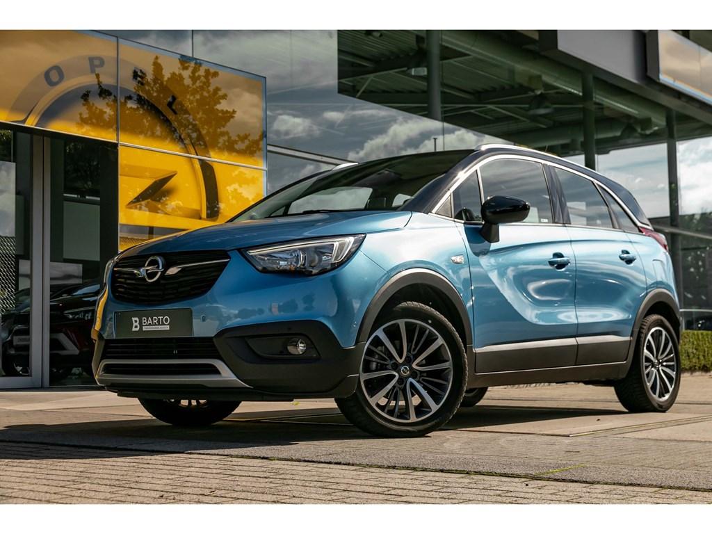 Tweedehands te koop: Opel Crossland X Blauw - 12 Turbo benzInnovation180CameraNaviParkeersens va