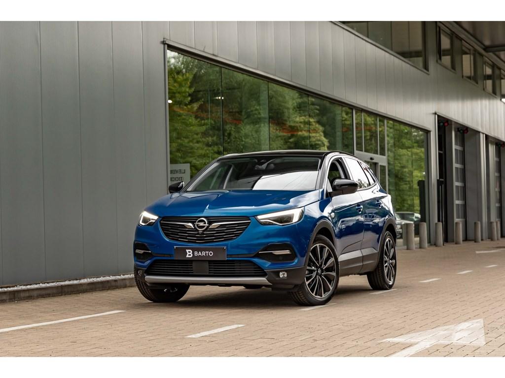 Tweedehands te koop: Opel Grandland X Blauw - 16Benz 180pk ATLEDPano DakVolledig LederDenon SoundAfn Trekhaak