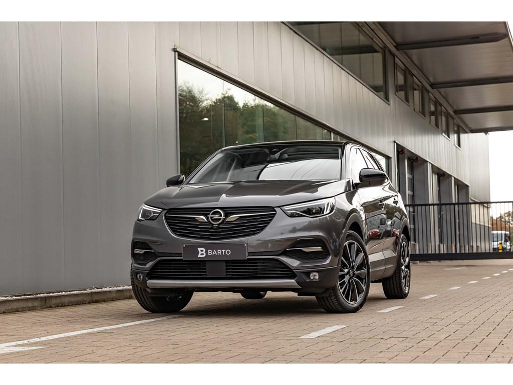 Opel-Grandland-X-Grijs-16Benz-180pk-ATLEDPano-DakVolledig-LederDenon-SoundAfn-Trekhaak