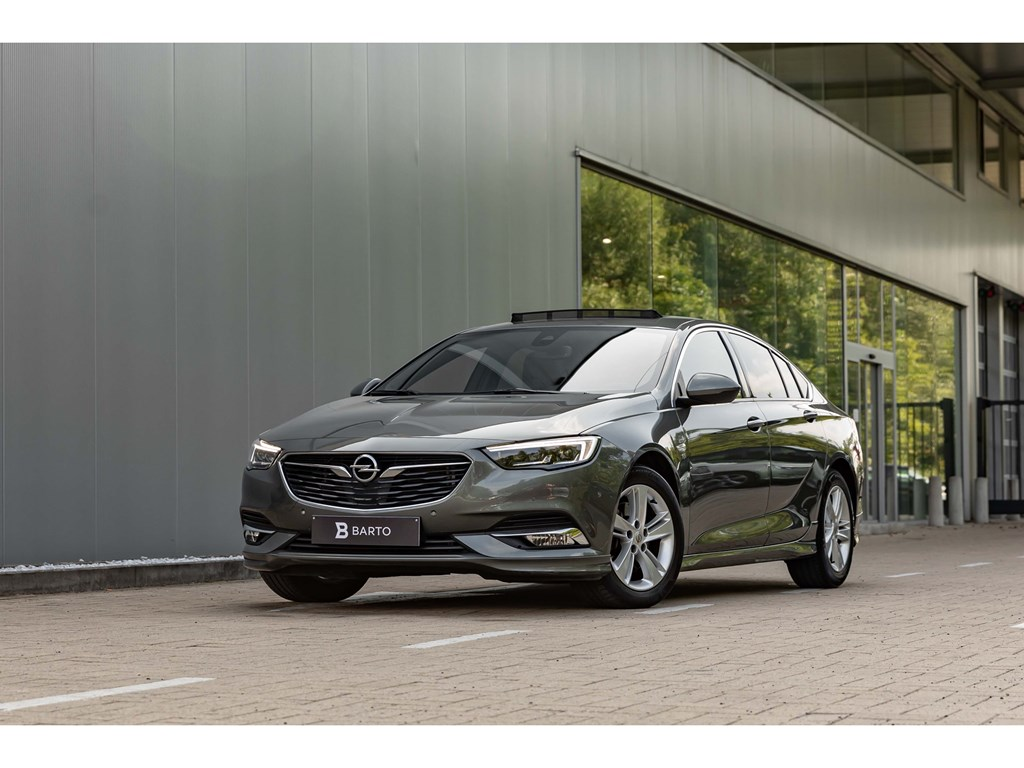 Tweedehands te koop: Opel Insignia Grijs - 16Turbo 200pk AT benzInnovationVolledig LederLEDMatrix